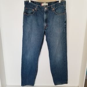 Levi's 550 Relaxed Fit Jeans Size 36x32